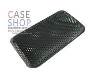 Пластиковый чехол в сеточку для Apple iPhone 3G / 3GS