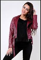 Куртка женская кожаная  в расцветках 27139, фото 1