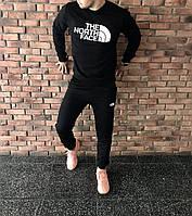Спортивный костюм мужской The North Face Норт Фейс черный (реплика)