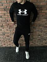 Спортивний костюм чоловічий Under Armour Андер Армор чорний (репліка)