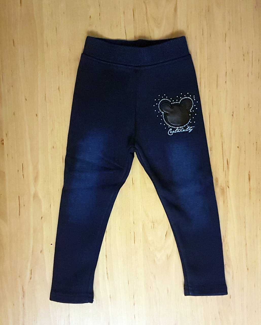 Теплые лосины под джинс для девочки - Интернет магазин