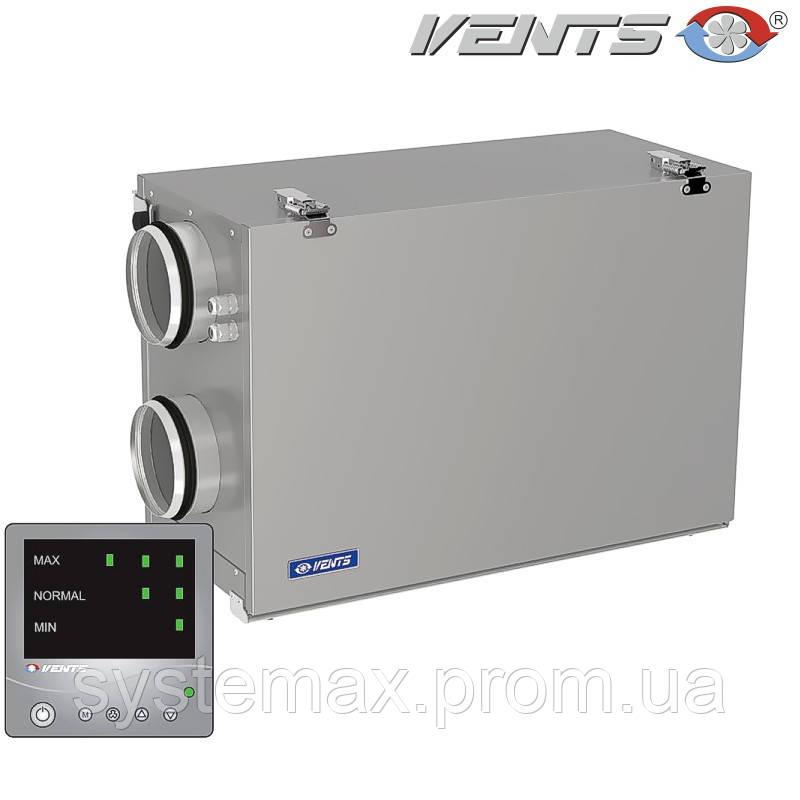 ВЕНТС ВУТ 300 Г мини ЕС Комфо: приточно-вытяжная установка (горизонтальная, с панелью управления)