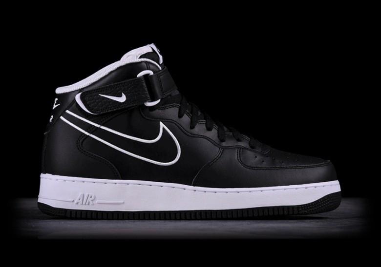 Оригинальные мужские кроссовки Nike Air Force 1 MID 07 LTHR  продажа ... ceb411c3f3d