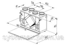 ВЕНТС ВУТ 300 В мини ЕС Комфо: приточно-вытяжная установка (вертикальная, с панелью управления), фото 3