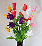 Тюльпаны 3  головки на ветке, фото 2