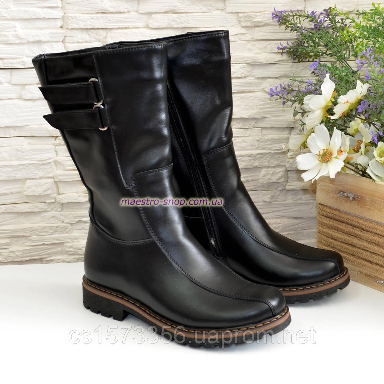 Кожаные женские ботинки оптом