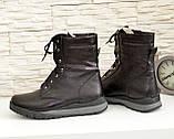 Ботинки мужские на шнуровке из натуральной кожи флотар, от производителя, фото 4