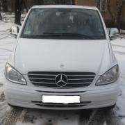 Накладка на радиаторную решетку Mercedes-Benz Viano 2003-2010