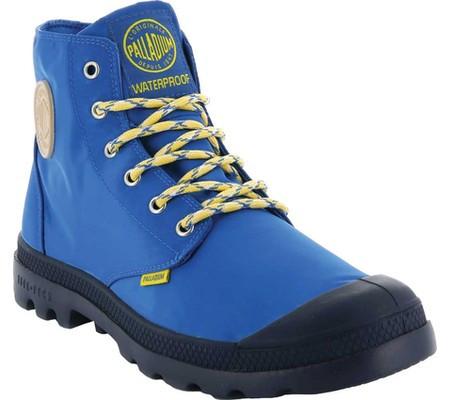 Женские ботинки Palladium Pampa Puddle Lite Waterproof Boot Royal Blue Dress  Blue Textile (37.5 71487cfbd0c14