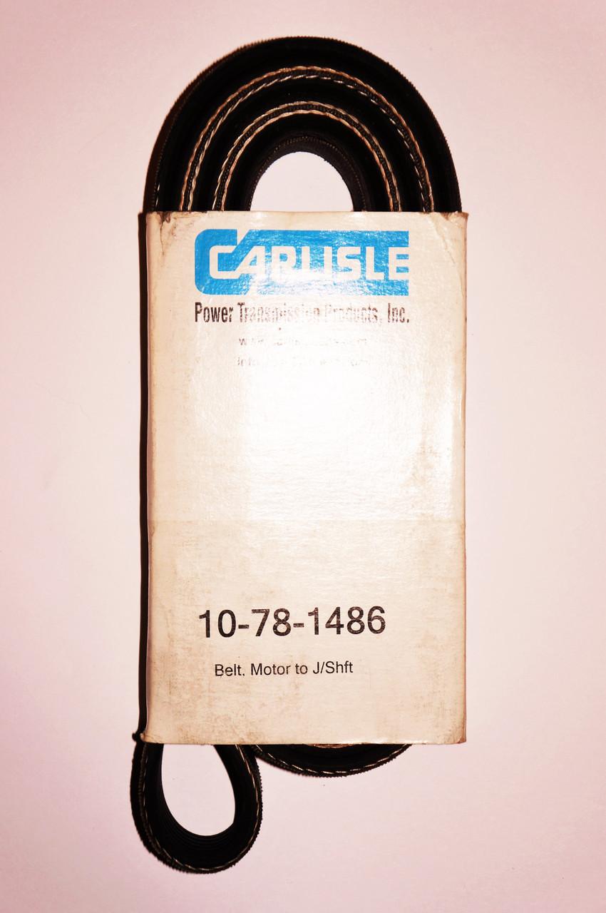 Ремень 78-1486 электродвигатель - турбина