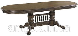 Стол обеденный Ривьера раздвижной 153-243 см темный орех