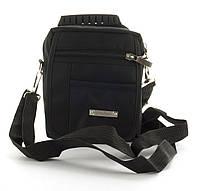 bd7034afca91 Удобная наплечная мужская сумка с очень прочного материала почтальонка art.  7508 (103223) черная