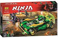 """Конструктор Ninja Bela 10803 """"Ночной Вездеход Ниндзя"""" 570 деталей"""