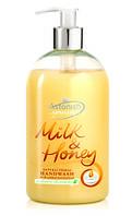 Антибактериальное жидкое мыло для рук Astonish, молоко и мед, 500 мл, Великобритания, фото 1