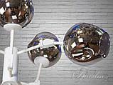 """Люстра в стиле Loft - """"Молекула"""" на 6 ламп 856/6WH, фото 3"""