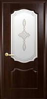 Дверь Вензель Р1 стекло сатин