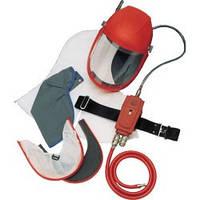 Защитная маска-шлем с принудительной подачей воздуха
