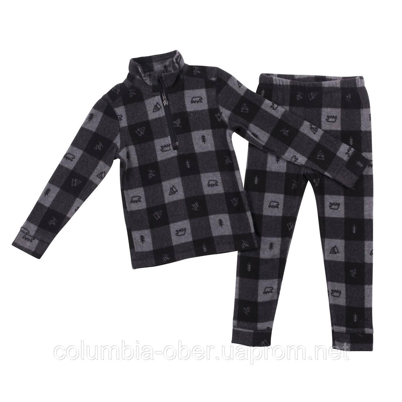 Флисовый костюм для мальчика NANO BUWP600-F18 Mid Gray Mix. Размеры 2-12.