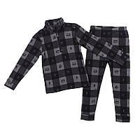 Флисовый костюм для мальчика NANO BUWP600-F18 Mid Gray Mix. Размеры 2-12., фото 1