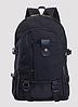 Рюкзак мешковина черный