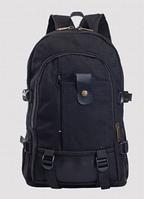 Рюкзак мешковина черный, фото 1
