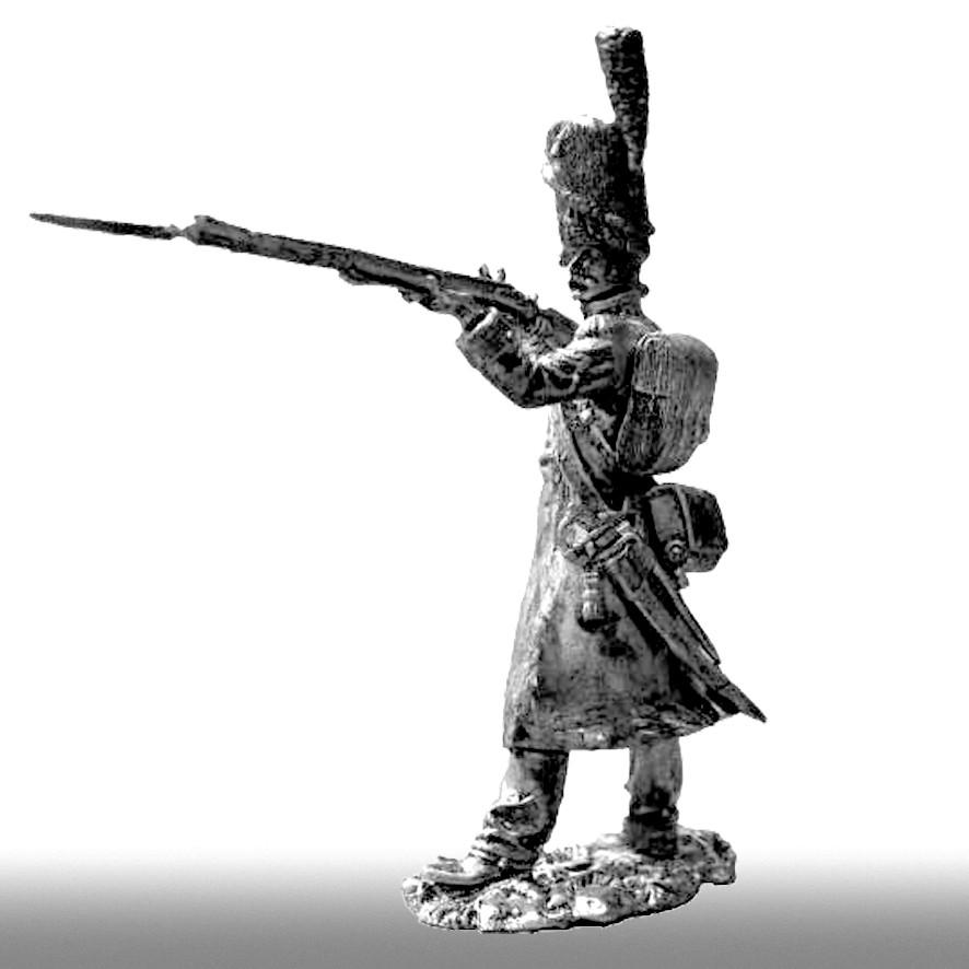 Гренадер линейного полка, 1808-1812 годы