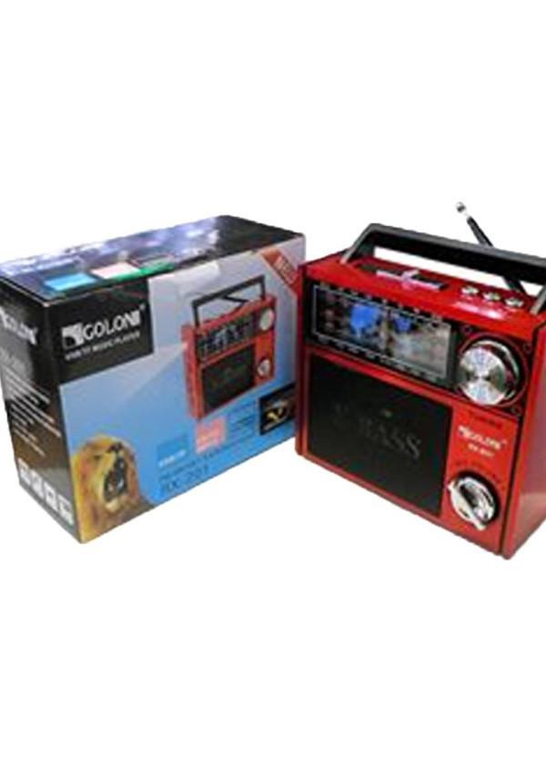 Радио RX 201 с Led фонариком