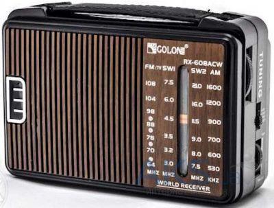 Радиоприемник GOLON RX-608ACW Распродажа