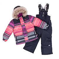 Зимний термокостюм NANO для девочки 2,4,6,7 лет (куртка и брюки) ТМ Nanö F18 M 254, фото 1