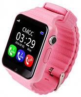 Умные часы Smart Watch UWatch V7K GPS Pink (hub_np2_0390)
