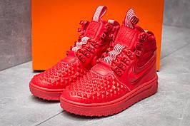 Зимние кроссовки в стиле Nike LF1, красные (30084),  [  39 40 41  ]