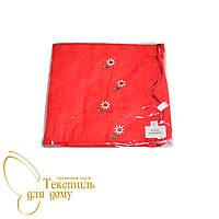 Парео + капюшон для сауны женское 70*140, красный