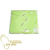 Парео + капюшон для сауны женское 70*140, зеленый