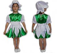 Красивый детский костюм Подснежник, для девочки