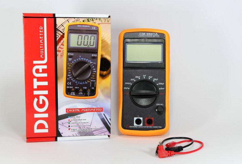 Цифровой измеритель ёмкости, мультиметр DT CM 9601