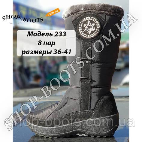 Женские сапожки Paolla. 37-41 рр. Модель П 233, фото 2