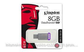 USB-Флешка Kingston DT 50 8 gb metal USB 3.1
