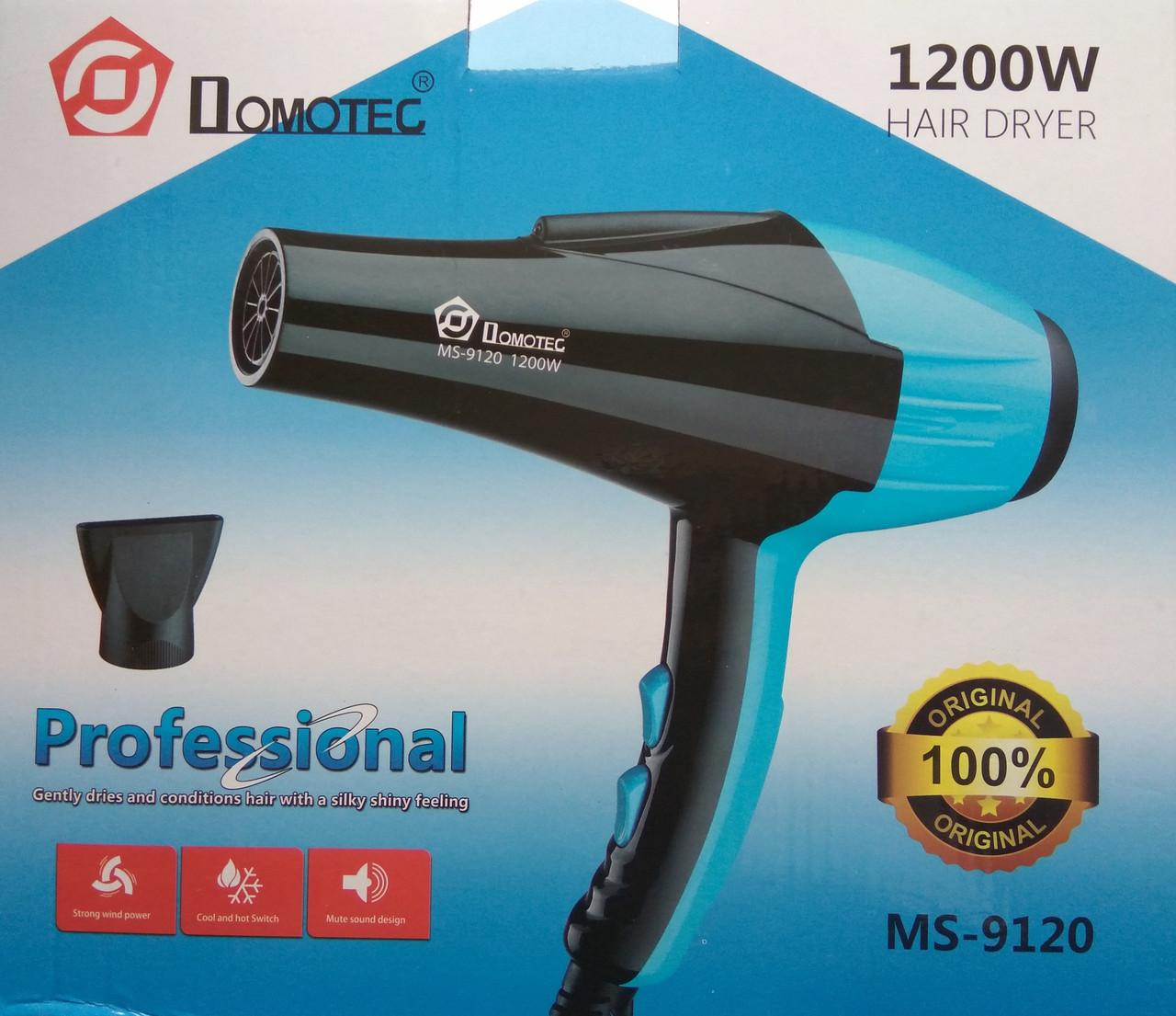 Фен для волос Domotec MS 9120 1200W  продажа 7d6c4e504caa6