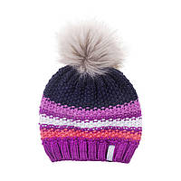 Зимняя детская шапка для девочки Nano F18 TU 254 Dust Steel. Размер 7/12.