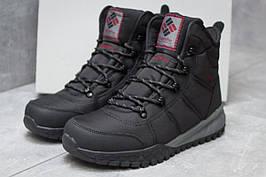 Зимние ботинки  Columbia Waterproof, черные (Код: 30171) [  46 (последняя пара)  ]