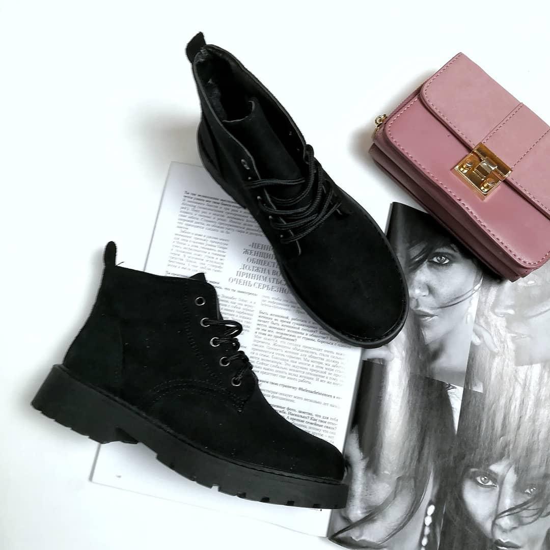 Жіночі зимові черевики чорні 41  продажа 6a92bc1ed0529