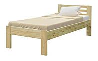 Ліжко односпальне в спальню i дитячу з дерева 900 Мебель Сервіс