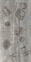 Керамическая плитка пол декор  Castello ректификат серый