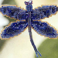 Набор для вышивки Rainbow Dragonfly, фото 1