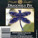 Набір для вишивки Rainbow Dragonfly, фото 2