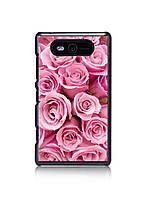 Чехол для Nokia Lumia 820 (розовые розы)
