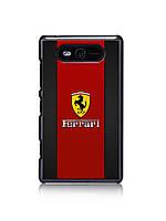 Чехол для Nokia Lumia 820 (Ferrari)