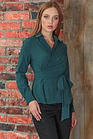 Зеленая Рубашка на запах, фото 1
