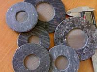 Прокладки плоские с фильтрующими элементами