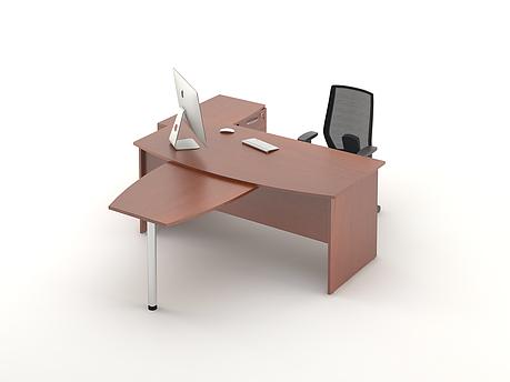 Комплект мебели для персонала серии Атрибут композиция №1 ТМ MConcept, фото 2